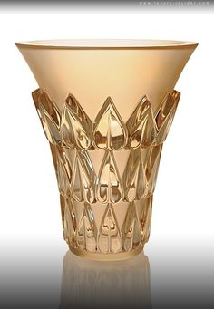 Art Deco 1920's LALIQUE EXQUISITE GOLD LUSTER COLLECTION. @designerwallace