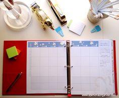 Organize a sua vida com checklists de organização do FIchário da Casa Organizada™ da Helena - A Personal Organizer.