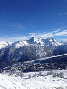 Best skiing , Courchevel France