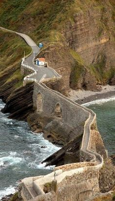 San Juan de Gaztelugatxe - Coast Of Biscay, Spain. #spaincoast