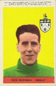 10. Colin MacDonald (McDonald) Burnley