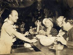 Don the Beachcomber, the first Tiki Bar in America,  on McCadden St, Los Angeles c.1934