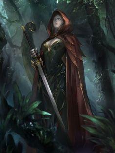 Red Squire by Liu Dante