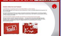 freecard.cc / Startseite © echonet