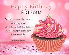 Birthday Wishes For Best Friend Female Wordings And Messa Happy Bestfriend