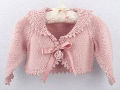vintage knitting pattern PDF baby cardigan and bonnet por ECBcrafts Knitting For Kids, Baby Knitting Patterns, Crochet For Kids, Knitting Designs, Baby Patterns, Free Knitting, Vintage Knitting, Trendy Baby Girl Clothes, Knitted Baby Clothes