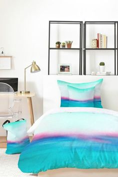 Buy Bed In A Bag with Distant Planet Pattern designed by Elisabeth Fredriksson. One of many amazing home décor accessories items available at Deny Designs. Aqua Bedding, Duvet Bedding Sets, Colorful Bedding, Buy Bed, Bed In A Bag, Bedroom Themes, Bedroom Ideas, Bedroom Inspo, Bedroom Bed