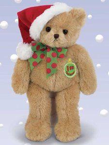 Bearington Bear My 1st Christmas Teddy Bear