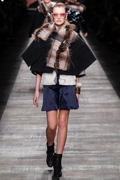 Fendi Fall 2014 Ready-to-Wear Fashion Show - Ieva Palionyte