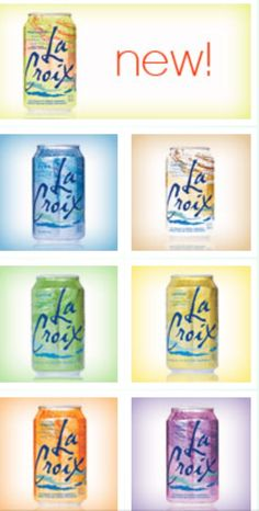 La Croix Water my new addiction....no sodium, no artificial sweeteners, no calories!