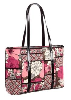 I love Vera Bradley bags. This one is my new favorite - in Mocha Rouge 2aaf7f02fe3a6