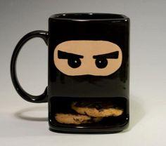 ninja cookie holder haha (DIY at color me mine)