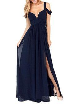 AIYUE Damen Chiffon falten Kleider elegant mit tief V-Aus... https://www.amazon.de/dp/B01H3CP0UW/ref=cm_sw_r_pi_dp_x_fueRxbV9NEC4S