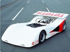 The Toyota 7, designed to compete in the 1970 Japanese GP. However, the Japanese Automobile Federation announced that the Japanese GP was be only for open-wheel cars.   Toyota planned to move the cars to enter Can-Am, however drivers Sachio Fukuzawa and Minoru Kawai were killed in separate testing accidents in February 1969 and August 1970. This would be the last sports prototype built by Toyota until the 1980s.