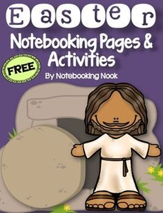 Free Easter Notebooking Pages and Activities