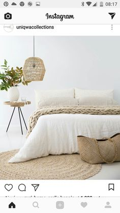 Miraculous Cool Ideas: Natural Home Decor Ideas Backyards natural home decor earth tones spaces.Natural Home Decor Bedroom Interiors natural home decor rustic furniture.Natural Home Decor Living Room Floors. Cozy Room, Bedroom Inspo, Bedroom Ideas, Bedroom Inspiration, Design Bedroom, Trendy Bedroom, Neutral Colored Bedroom, Bali Bedroom, 70s Bedroom