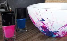 Faça você mesmo: confira passo a passo simples e barato para decorar um bowl branco