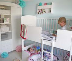 Incoraggia i bambini a leggere! - Tidy Books Bunk Bed Buddy - Scaffale pensile per letti a castello #camerette #design #bambini http://www.tidy-books.it/camerette-scaffali-mensole-contenitori/scaffali-mensole-letti-a-castello