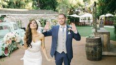 Bride and groom ready for grand entrance! Whoop! Whoop! #greengablesweddingestate #grandentrance