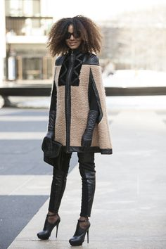 Street Style: Practical Party Looks for NYE | Essence.com Yesss!!