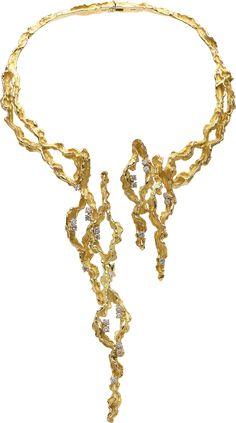 Chaumet Diamond, Gold Necklace