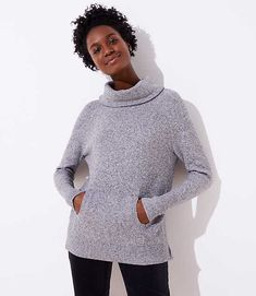 03a4a29826e13 Shop LOFT for stylish women's clothing. You'll love our irresistible  Turtleneck Pocket Sweater - shop LOFT.com today!