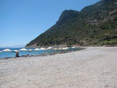 The Kamari Beach in Kefalos, on the island of Kos in Greece  http://www.discoveringkos.com/