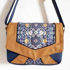 patron et tutoriel couture de la Besace Mila Satchel, Crossbody Bag, Girly, Messenger Bag, Shoulder Bag, Cross Body, Pattern, Fashion, Creativity