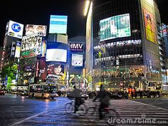 Shibuya.  I really do love this district.  Just looking at the photos makes me feel right at home.  I spent about 5 weeks a year living in a hotel room overlooking this intersection - spent a lot of time in the Starbucks that is located in the building at the end of the crosswalk.  It's a very lively and exciting part of town.
