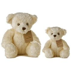 "Small Eco Ivory Teddy Bear 7.5"" by Aurora by Aurora, http://www.amazon.com/dp/B001RUV1WS/ref=cm_sw_r_pi_dp_0fjIrb13A55EW"