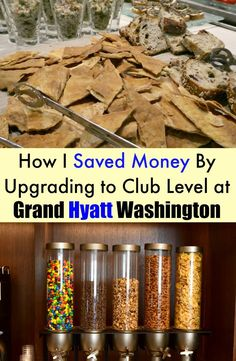 How upgrading to the club level at the Grand Hyatt Washington can save you money!