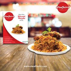 This Ramazan, try the awesome flavor of our ready to cook Biryani masala paste.... Shop now @ http://www.mealfastrr.com/produ…/indian/biryani-masala-paste #biryani #readytocookbiryani #flavourofbiryani