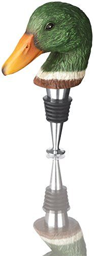 Wine Stoppers - Carson Home Accents Duck Original RedNek Wine Stopper Multicolor >>> Continue to the product at the image link.