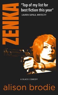 Today I have the pleasure of bringing you a little excerpt from the beautiful Alison Brodie's black comedy Zenka. The cover alone makes me want to grab a gun and look all sexy and mysterious&…