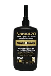 Shop Adhesives glass to glass clear drying adhesive