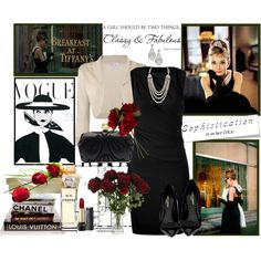 """The Iconic Audrey Hepburn"" by fantasy-rose on Polyvore"