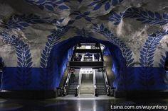 subway of stockholm #sweden
