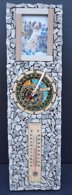 orologio moderno da parete di Ceramicraft14 su Etsy