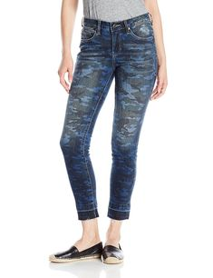 Jag Jeans Women's Rochelle Slim Ankle-Camo *** Insider's special review you can't miss. Read more  : Fashion