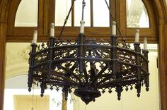 gothic chandelier - Google Search