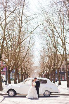 winter wedding transport - Google Search