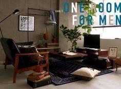 NEW LIFE , NEW INTERIOR , NEW CORDINATE ケース1 男性ワンルーム編|Re:CENO インテリア