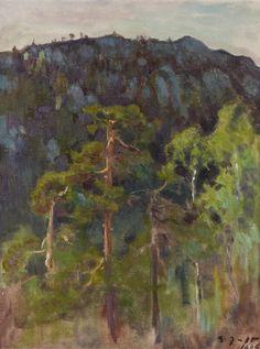 Eero Järnefelt, Landscape,