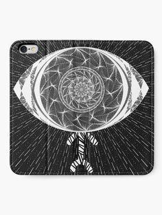 """The AyEye Mummy_Version02"" iPhone Wallet by Asmo Turunen"
