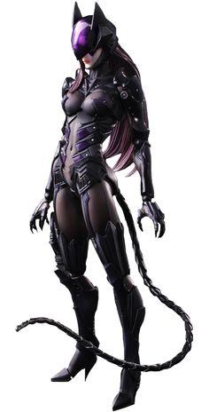 "Batman | Catwoman Variant Play Arts Kai 10"" Action Figure by Tetsuya Nomura | Square Enix | Popcultcha"