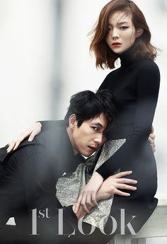 이솜 정우성 커플 화보