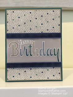 Stampin' Up Birthday Wishes for You