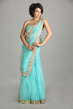 prettiest sari I've set my eyes on!