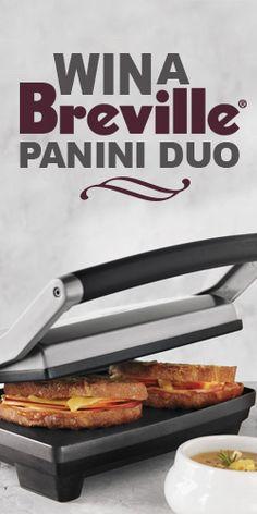 #Win a #Breville Panini Duo