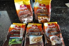 This is a sponsored post for SheSpeaks/Folgers. I admit I am not a huge coffee drinker, but I do love the occasional cup of hot joe. Now iced coffee is a whole different story and if I have the time to make it right I do love iced coffee. Snack Recipes, Snacks, Coffee Drinkers, Iced Coffee, Giveaways, The Selection, Caramel, Chips, Hot
